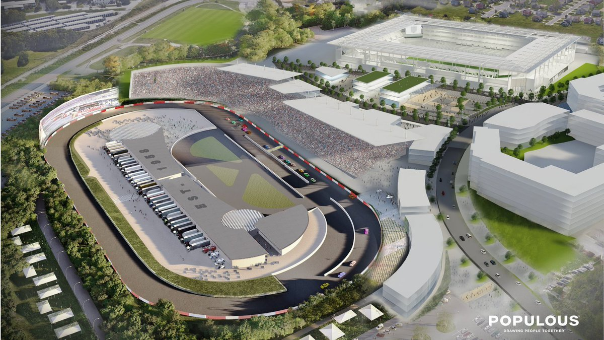 Fairgrounds Speedway Nashville renovation project