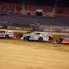Josh Harris, Derek Losh and Bobby Pierce in the Gateway Dirt Nationals - Dirt Modifieds 2089