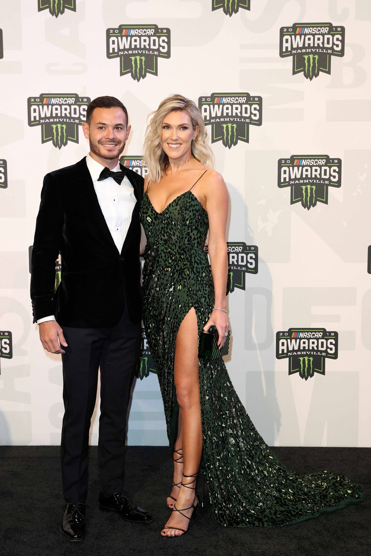 Kyle Larson and Katelyn Larson - NASCAR Awards