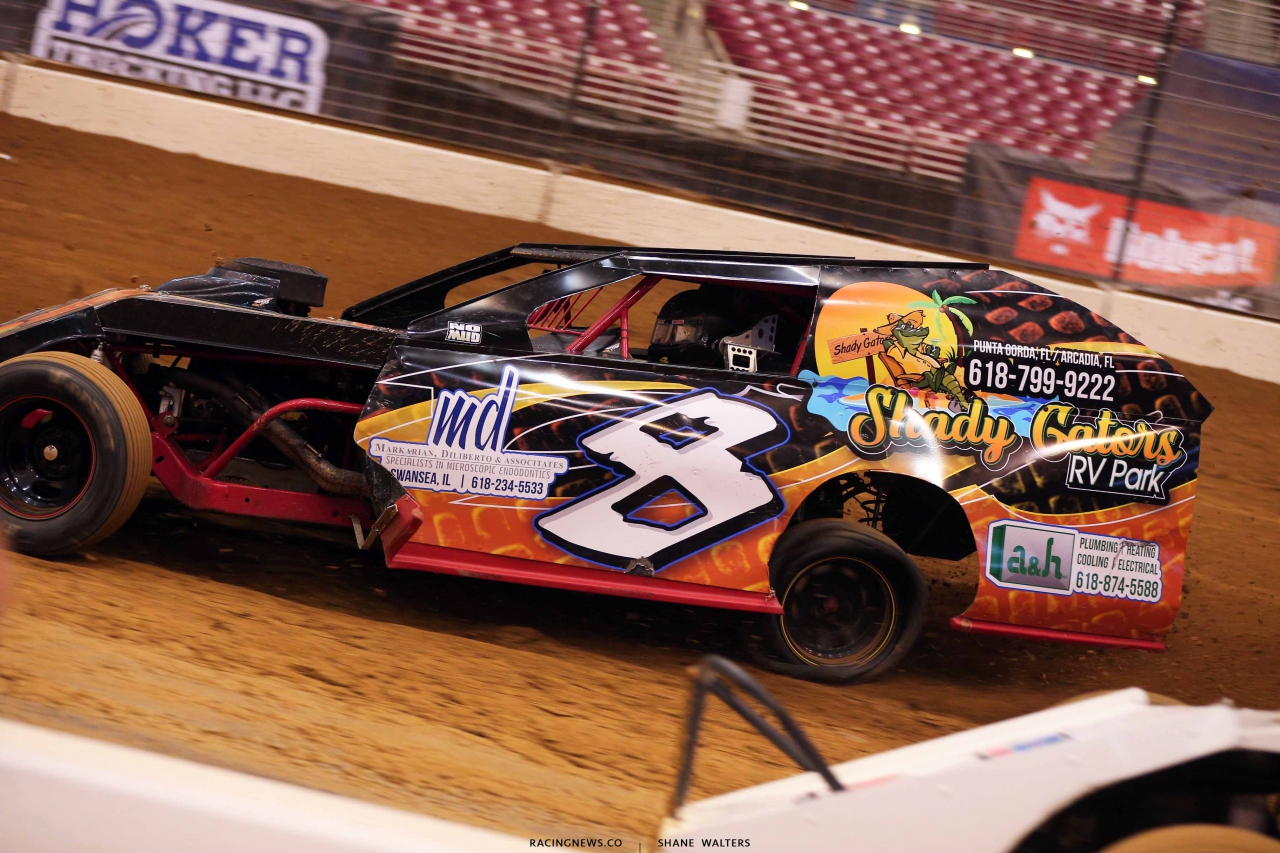 Kyle Strickler - Flat left rear in Gateway Dirt Nationals 2159