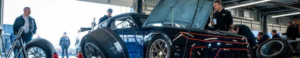 NASCAR Next Gen test at Homestead-Miami Speedway
