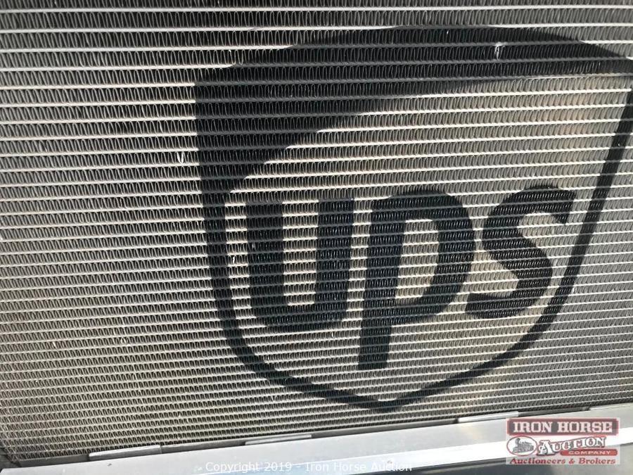 NASCAR style radiator in UPS truck