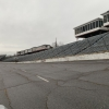 North Wilkesboro Speedway cleanup