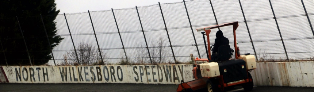 North Wilkesboro Speedway cleaned by Dale Earnhardt Jr