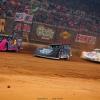 Rusty Schlenk, Patrik Daniel and Tyler Carpenter in the Gateway Dirt Nationals - Dirt Late Models 2502