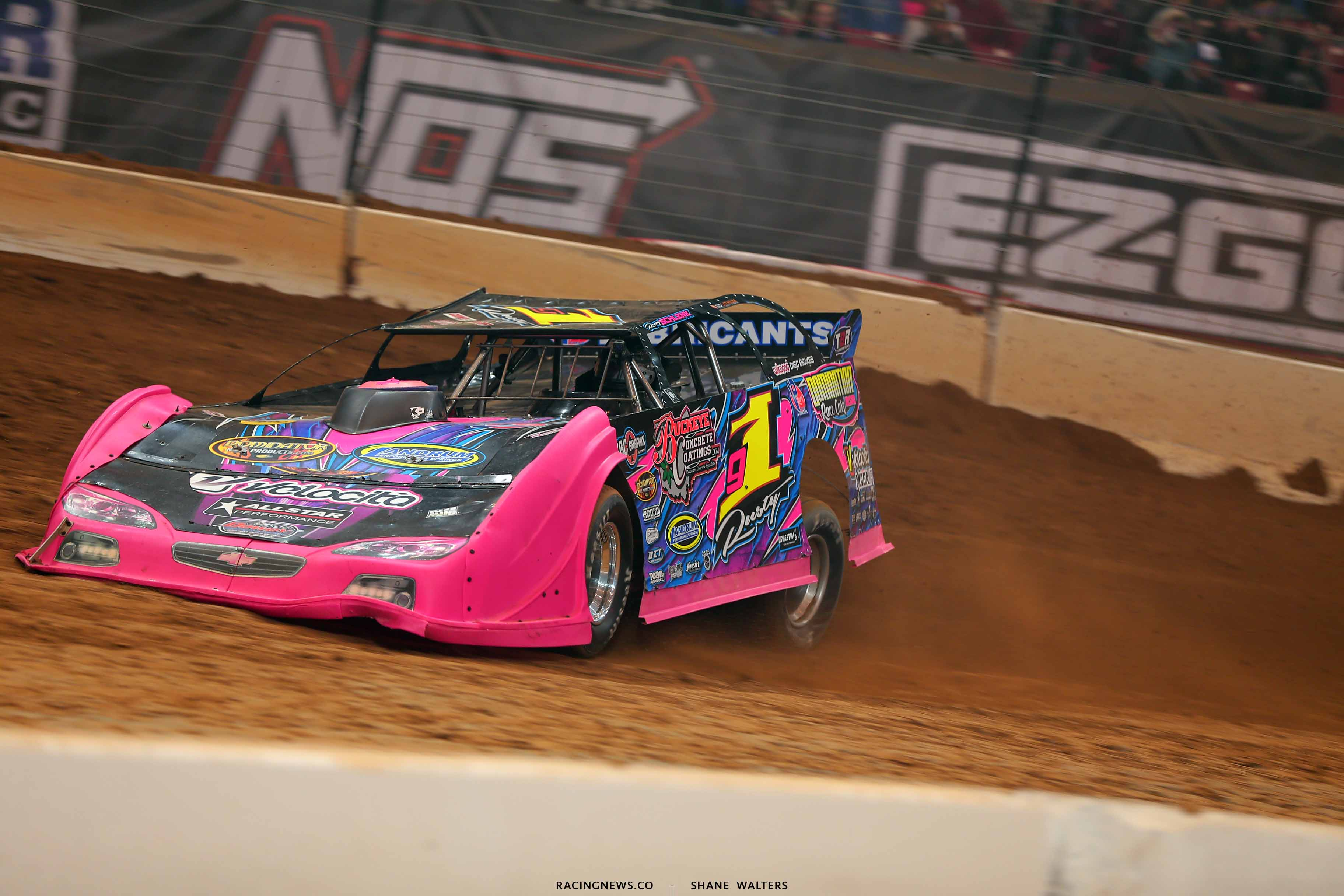 Rusty Schlenk in the Gateway Dirt Nationals - Dirt Late Model 2509