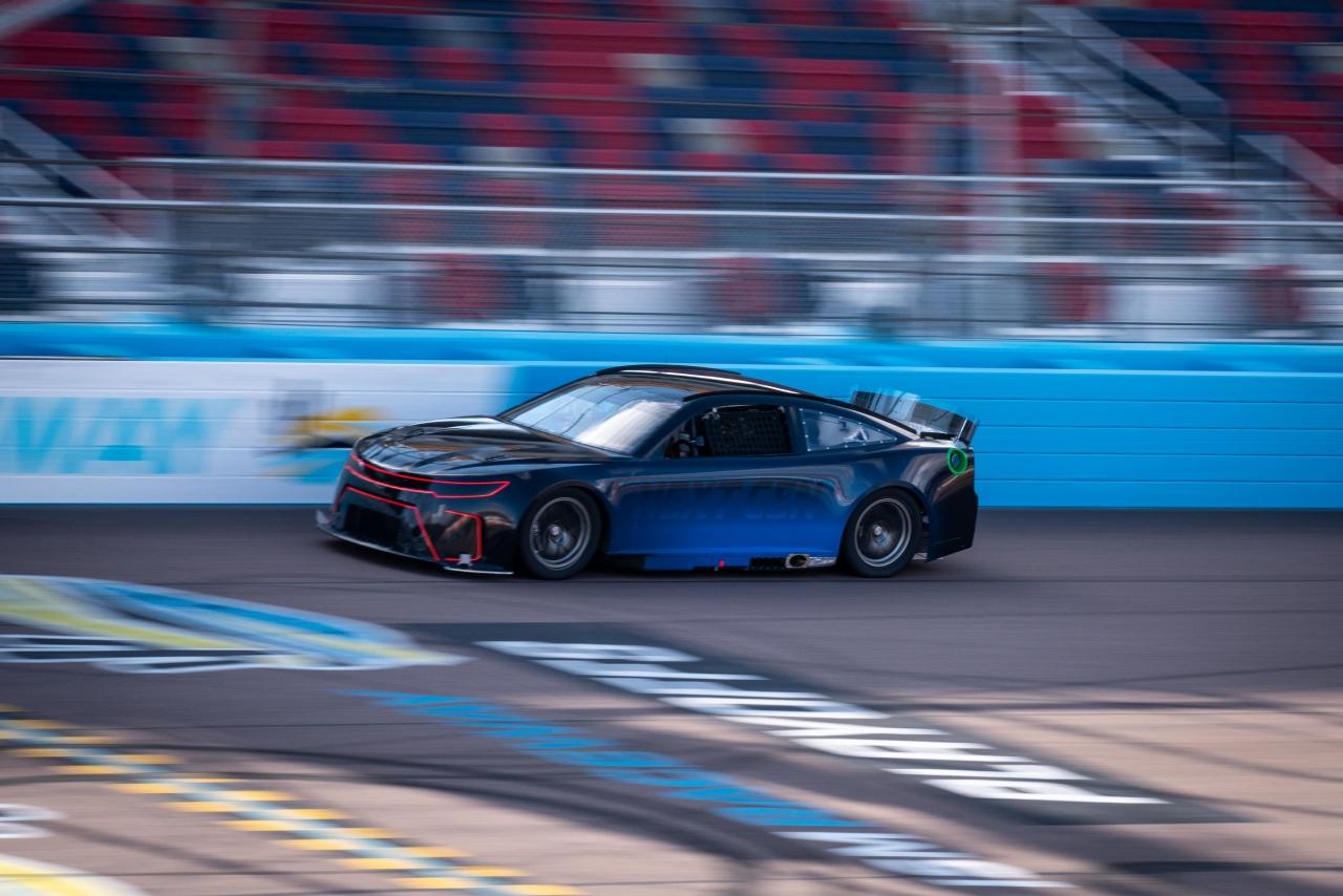 Test at ISM Raceway of Next Gen racecar - NASCAR Cup Series