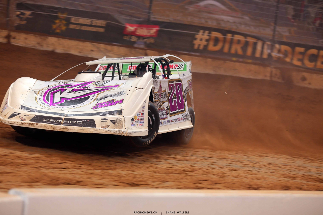 Tyler Carpenter in the Gateway Dirt Nationals - Dirt Late Model 2517