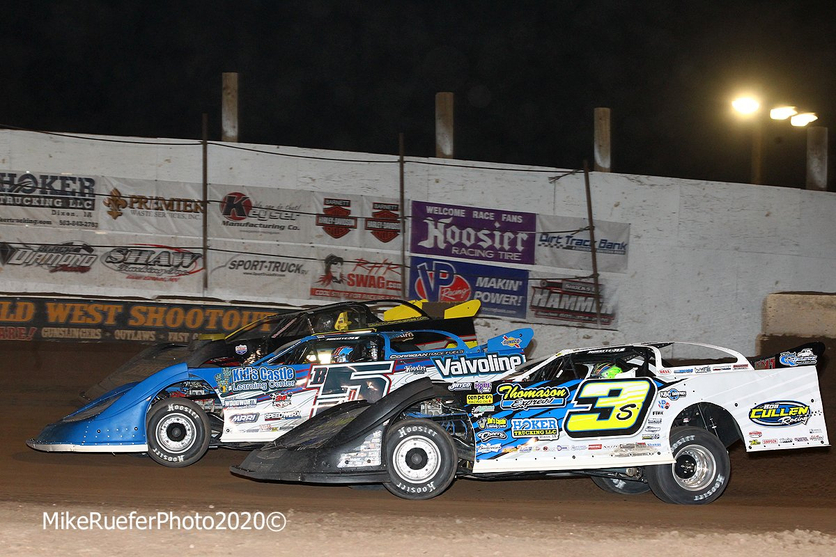 Brandon Sheppard and Brian Shirley in the Wild West Shootout
