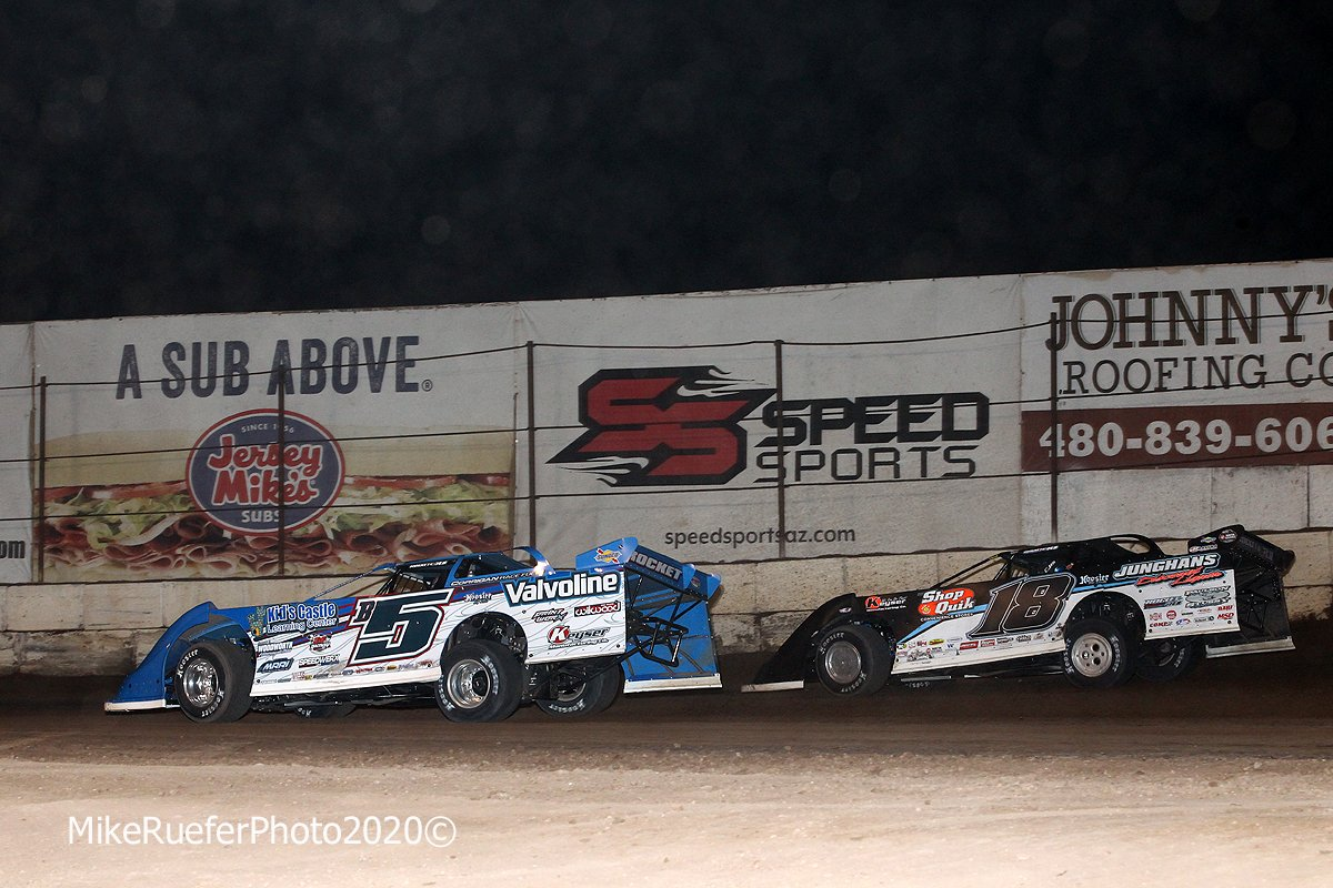 Brandon Sheppard and Chase Junghans - Wild West Shootout - Arizona Speedway