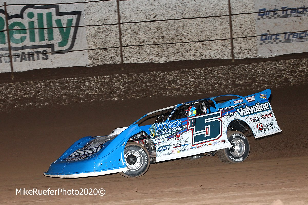 Brandon Sheppard at Arizona Speedway