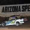 Chris Simpson, Ricky Weiss and Brian Shirley at Arizona Speedway - Wild West Shootout