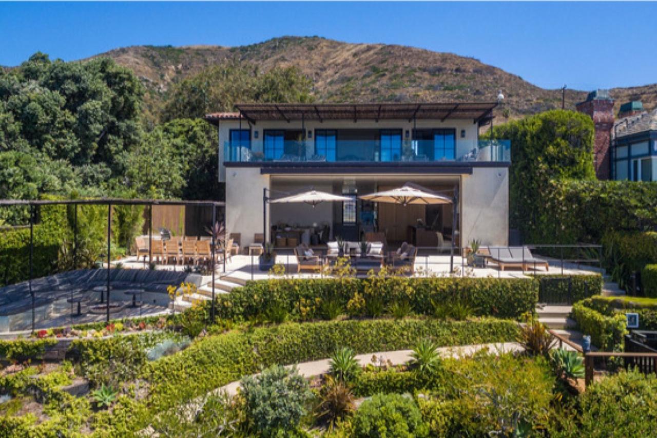 Danica Patrick house in Malibu