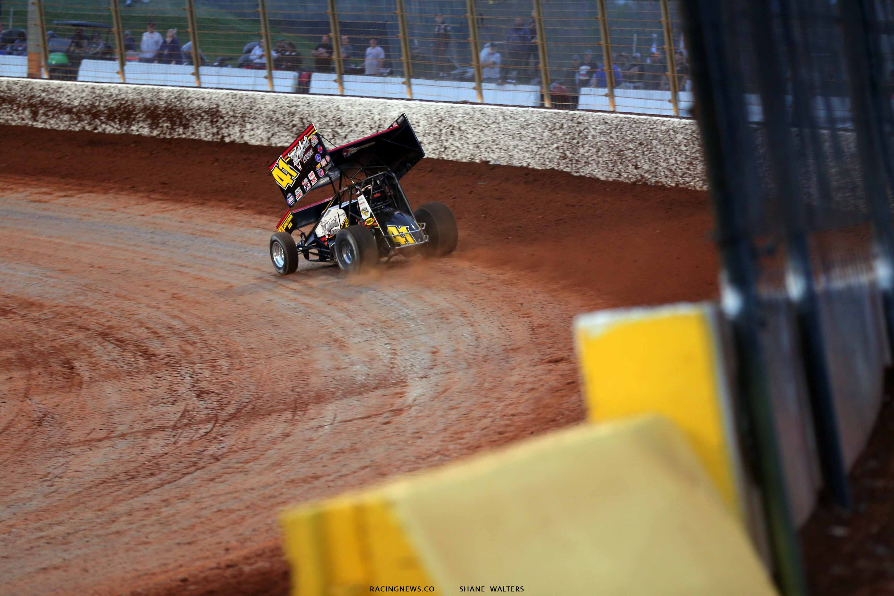 David Gravel on The Dirt Track at Charlotte - World of Outlaws 9993