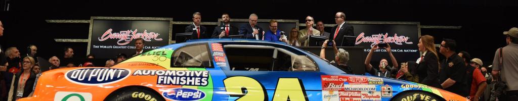 Jeff Gordon: First NASCAR road course winning car sold