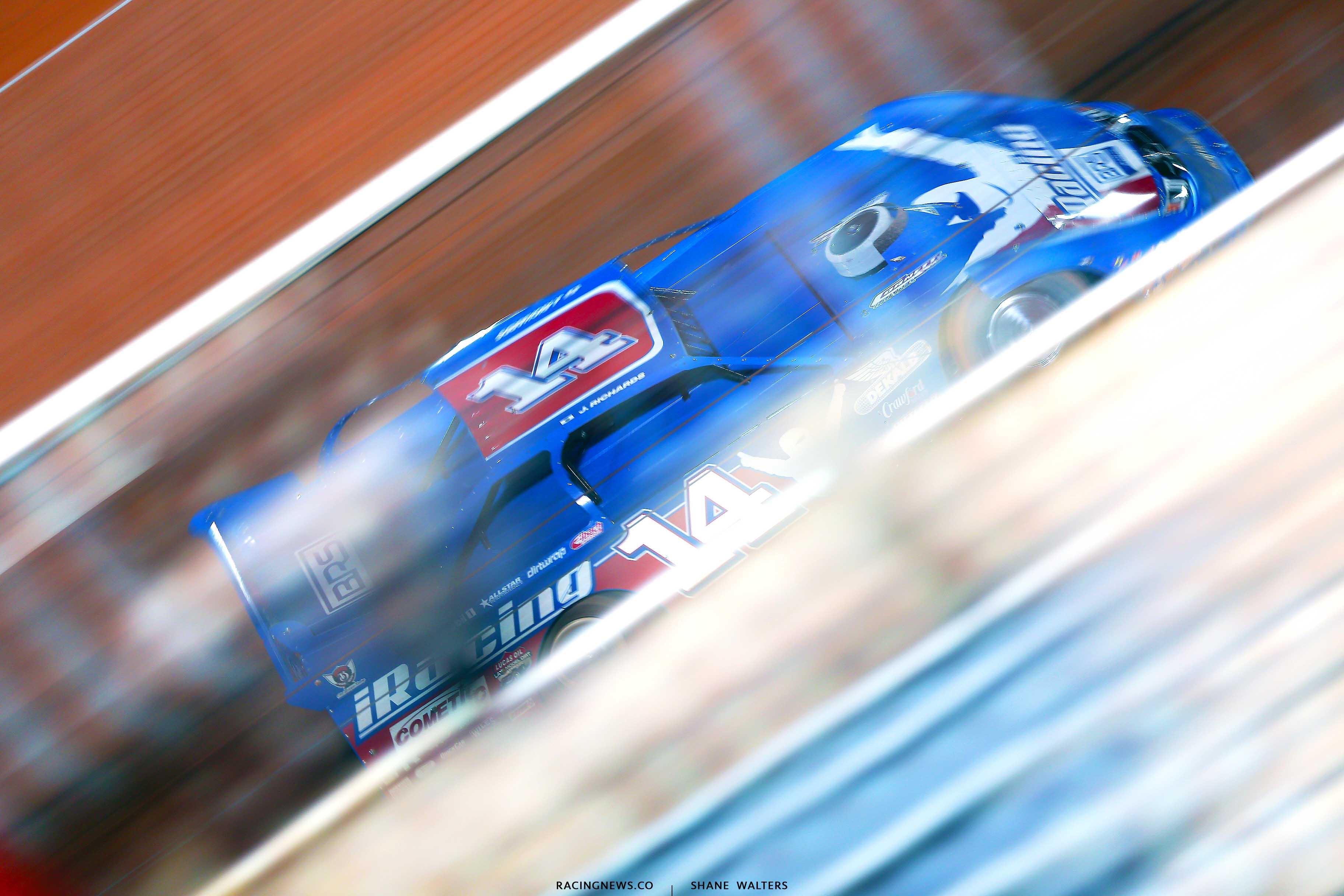 Josh Richards at Golden Isles Speedway 3122