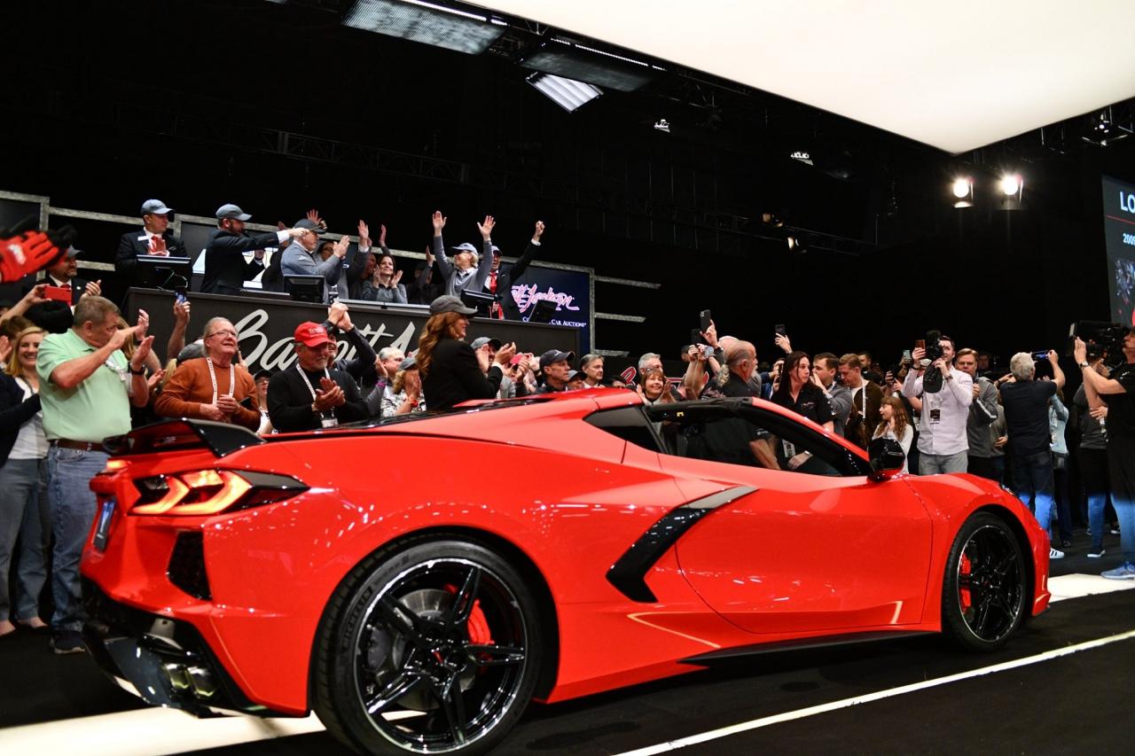 Rick Hendrick purchases first 2020 Corvette