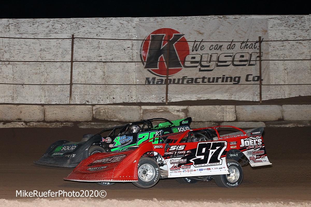 Ricky Thornton Jr and Cade Dillard - Arizona Speedway