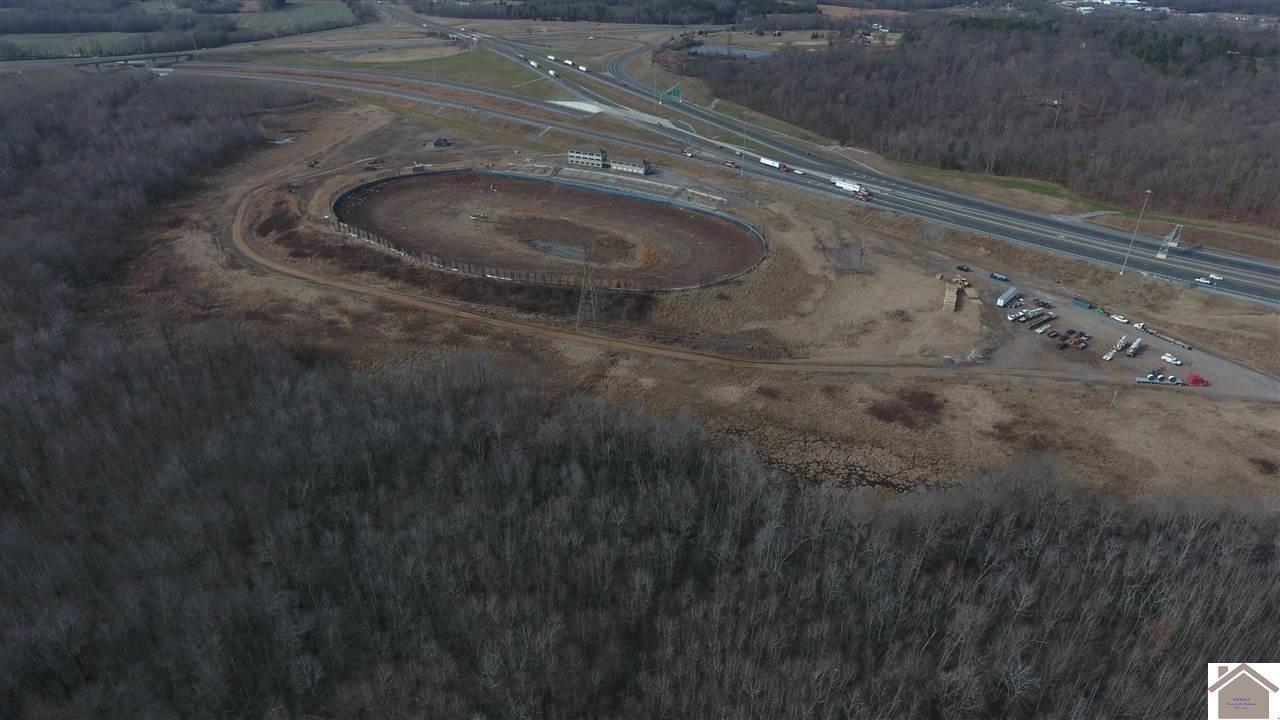 aerial photo of Kentucky Lake Motor Speedway