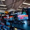 Austin Dillon in the NASCAR garage area at Daytona