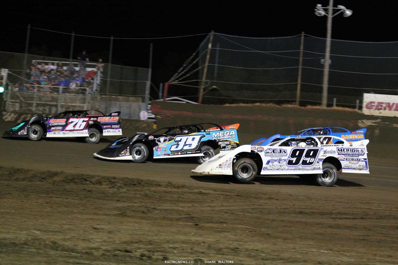 Brandon Overton, Tim Mccreadie, Boom Briggs and Kyle Bronson at East Bay Raceway Park 4359