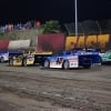 Brandon Sheppard, Billy Moyer Jr, Kyle Bronson, Brandon Overton and Jimmy Owens at East Bay Raceway Park - Lucas Oil Late Model Series 4437