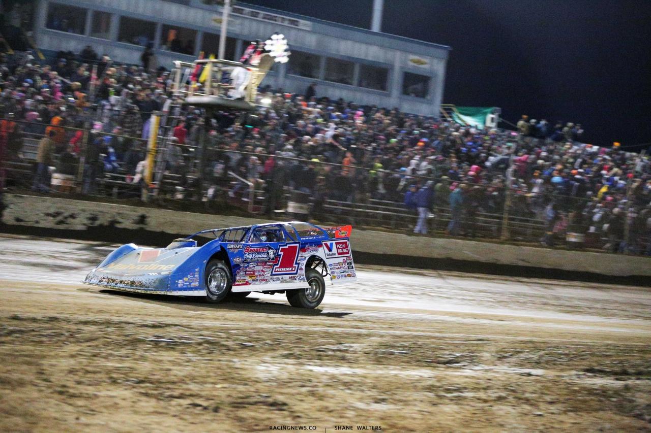 Brandon Sheppard wins at East Bay Raceway Park - Lucas Oil Late Model Dirt Series 5257
