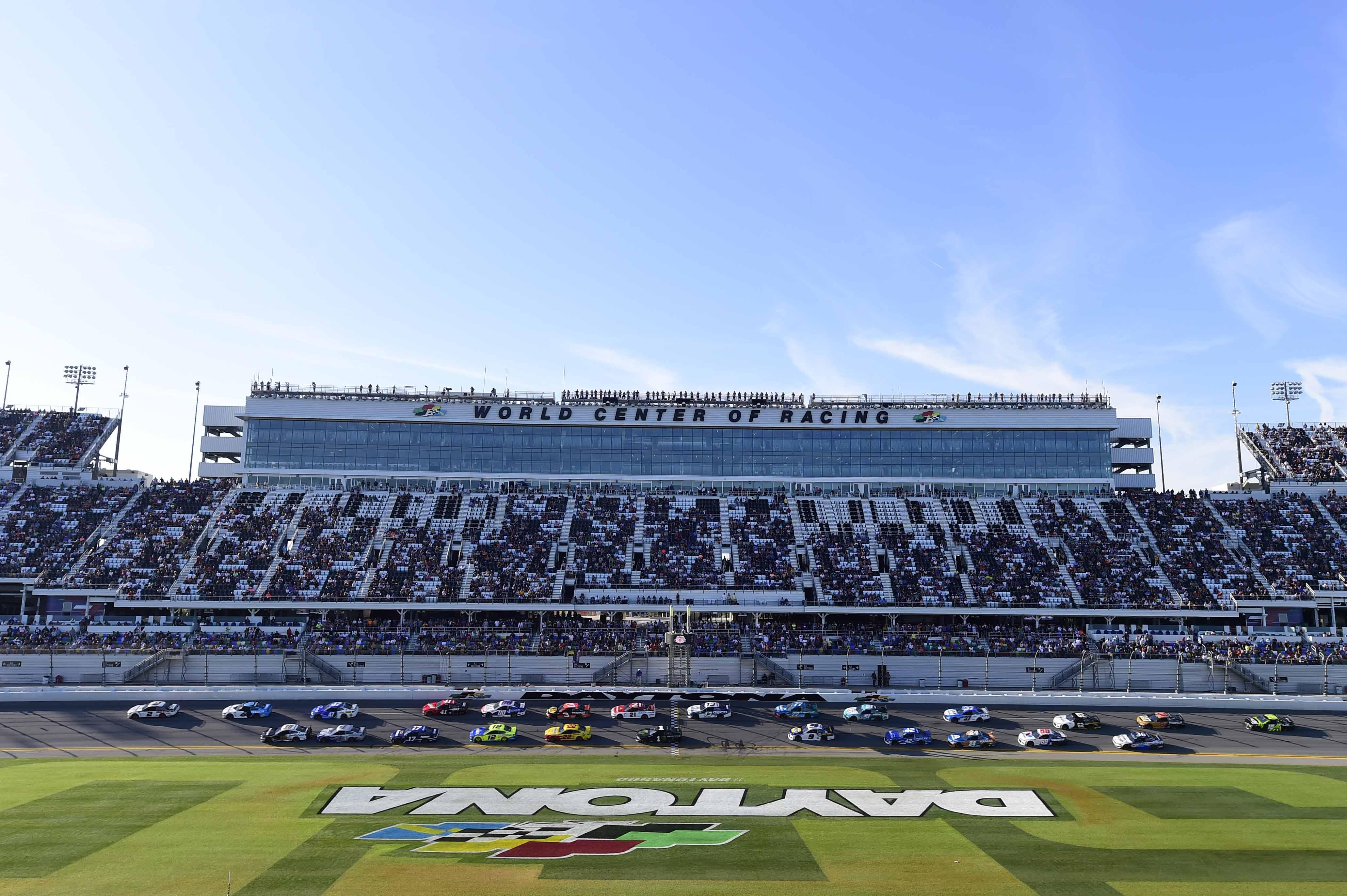 Daytona International Speedway - World Center of Racing - NASCAR Cup Series - Daytona 500