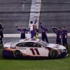 Denny Hamlin celebrates Daytona 500 win - NASCAR Cup Series