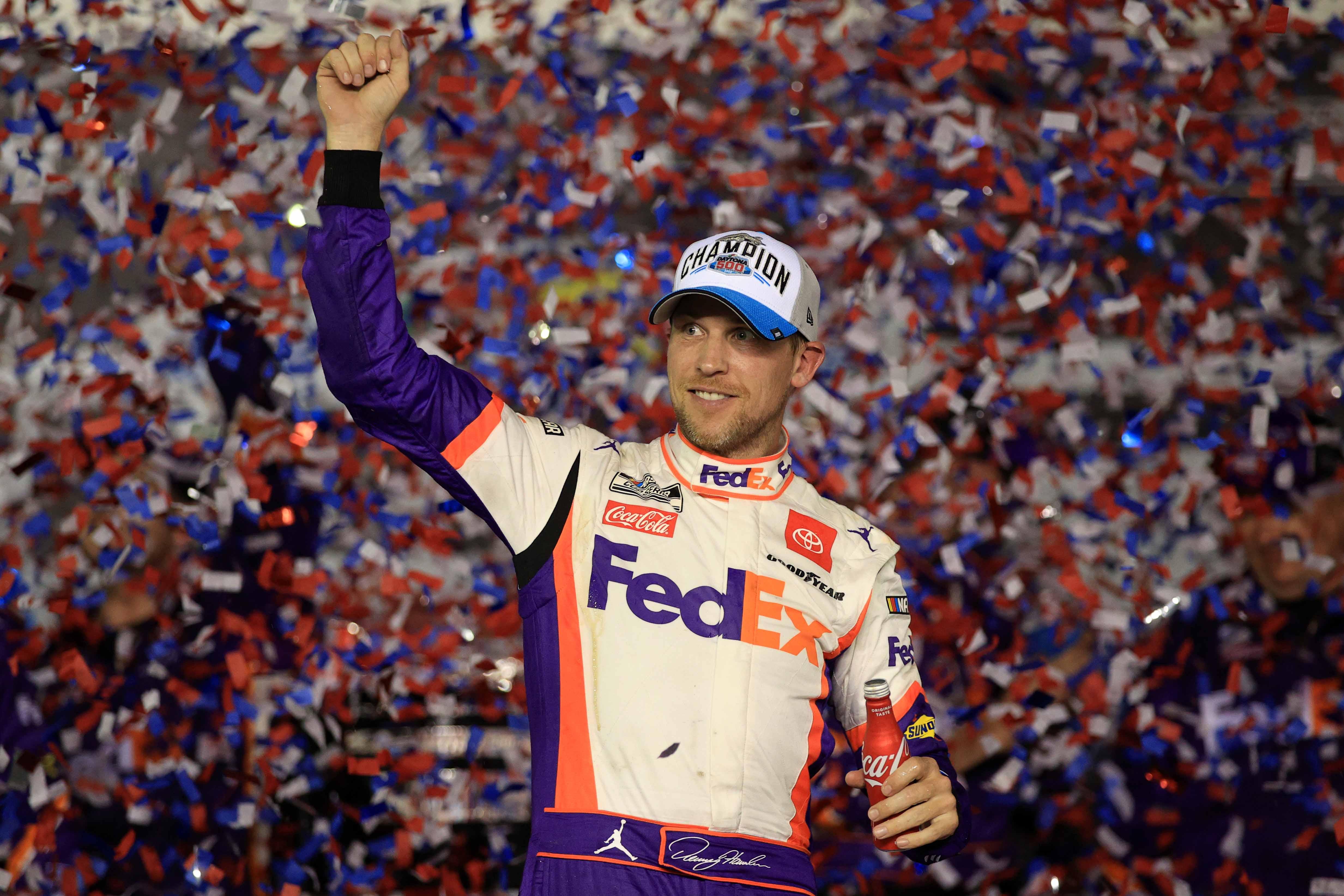 Denny Hamlin wins 2020 Daytona 500