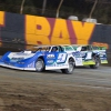 Devin Moran and Tyler Erb at East Bay Raceway Park - Lucas Oil Late Model Dirt Series 3792