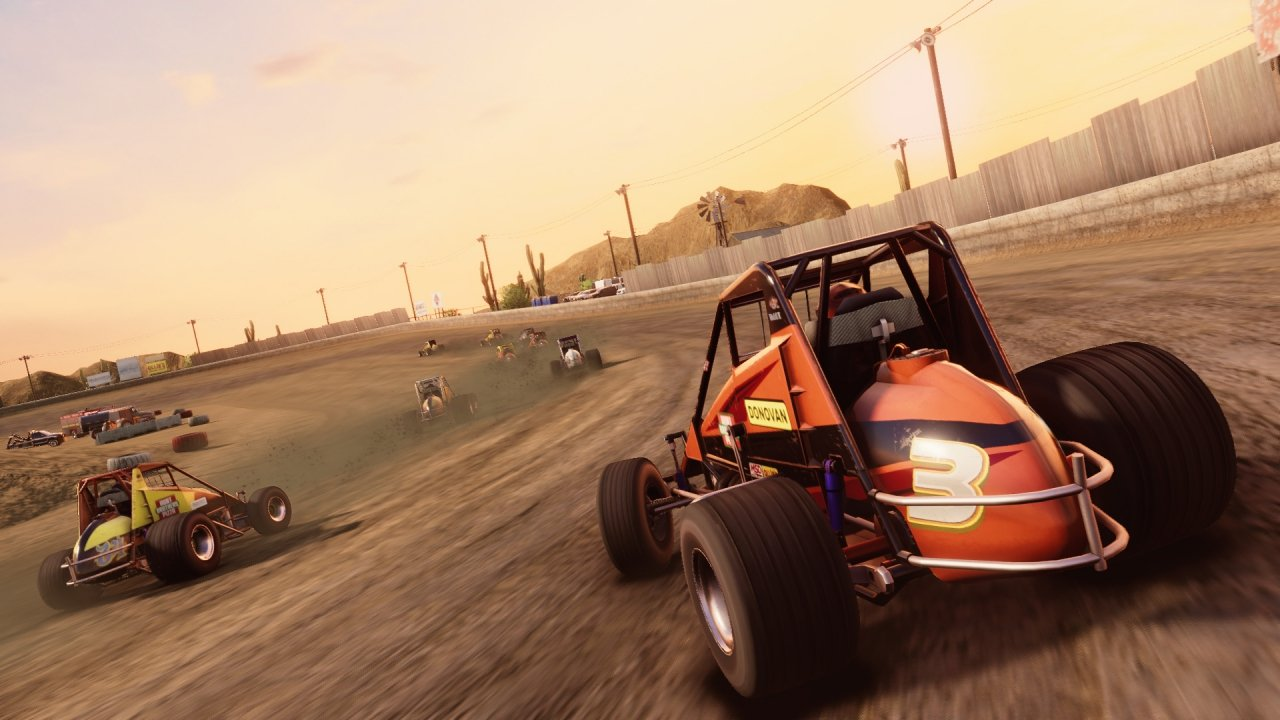Dirt midget video game - screenshot