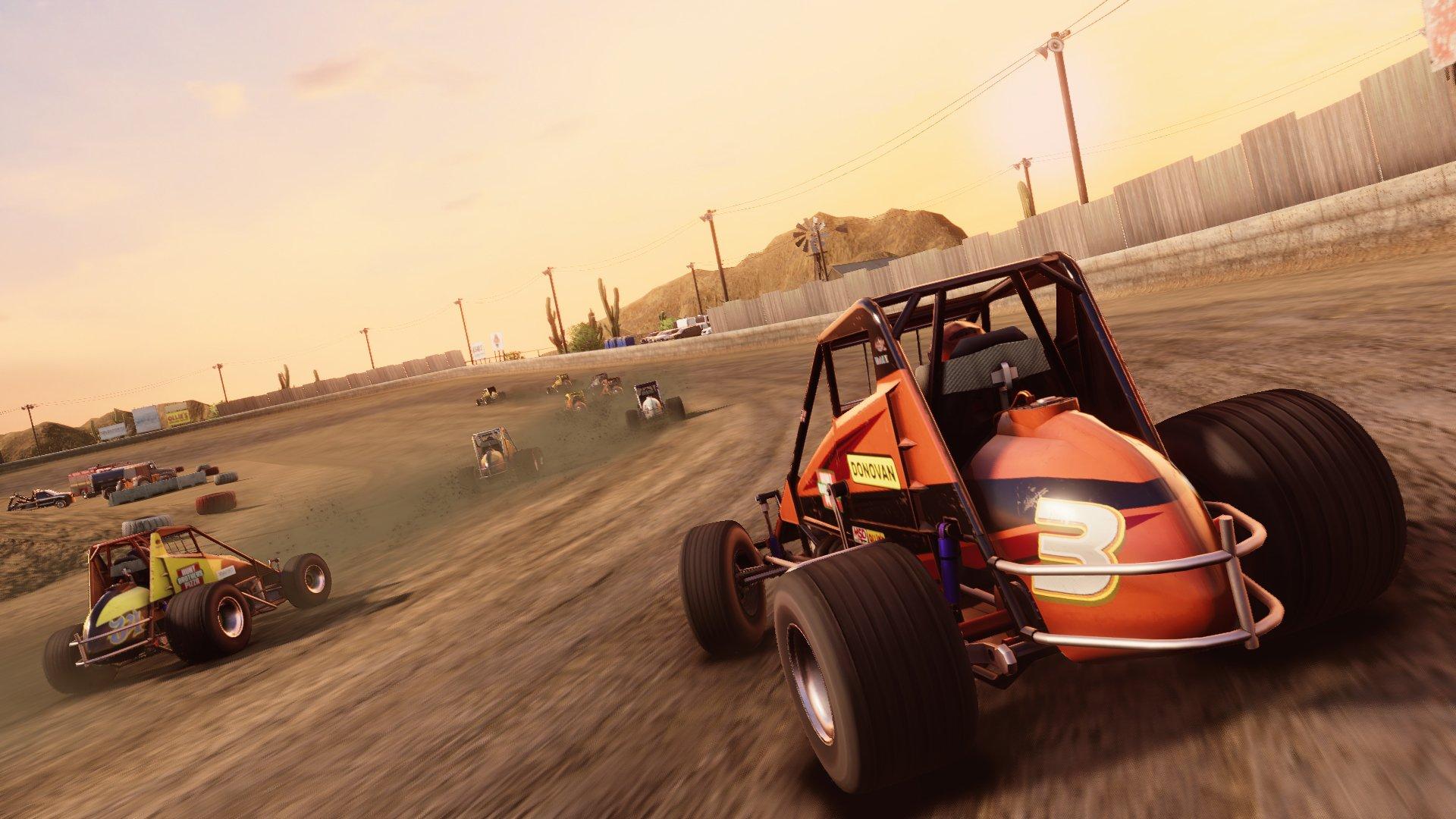 Dirt midget video game - screenshot