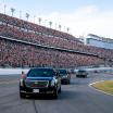 Donald Trump and The Beast run laps at Daytona International Speedway - Daytona 500