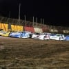 Four wide salute at East Bay Raceway Park - Lucas Oil Late Models 5109