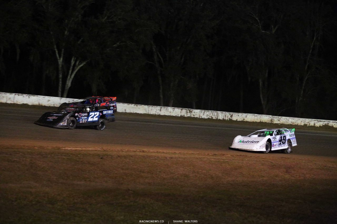 Gregg Satterlee and Jonathan Davenport - All-Tech Raceway - Dirt Late Models 5359