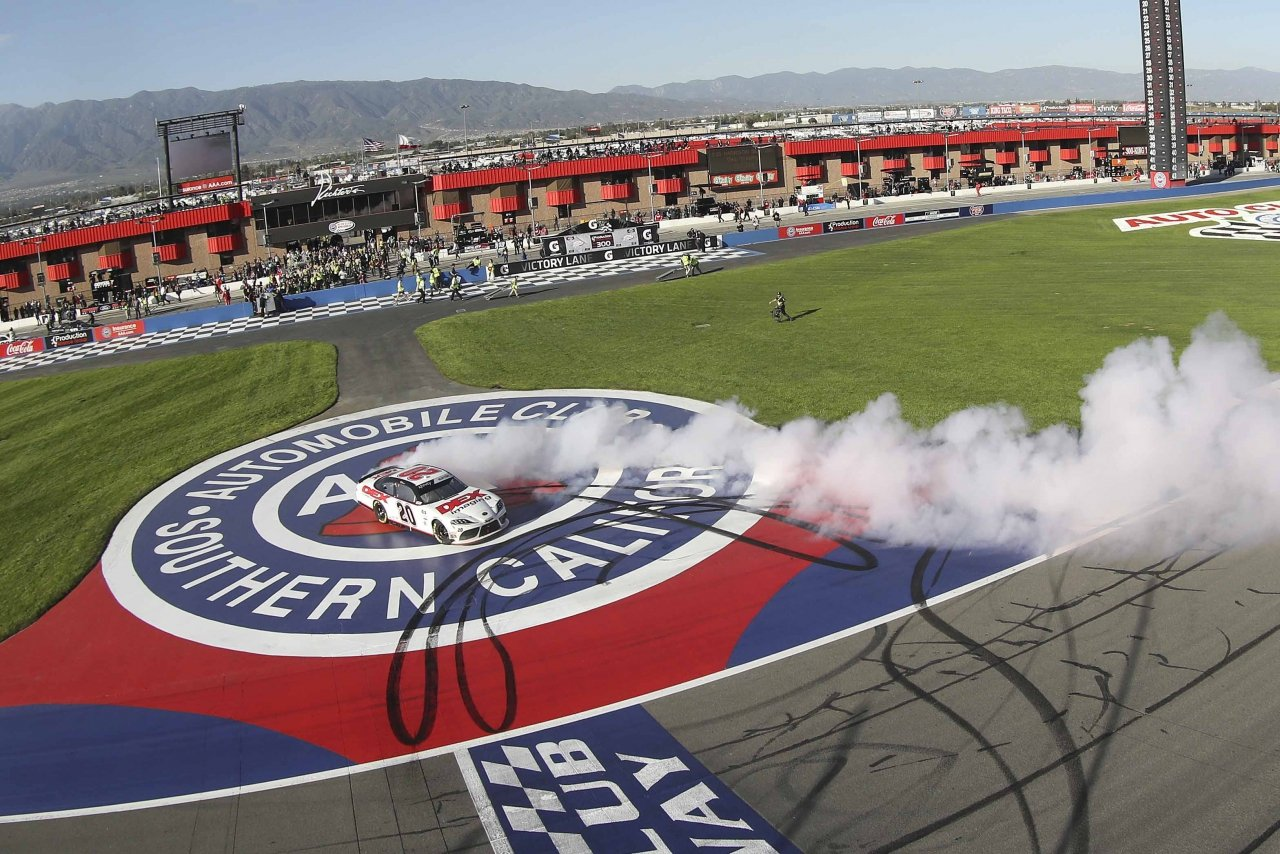 Harrison Burton wins at Auto Club Speedway - NASCAR Xfinity Series