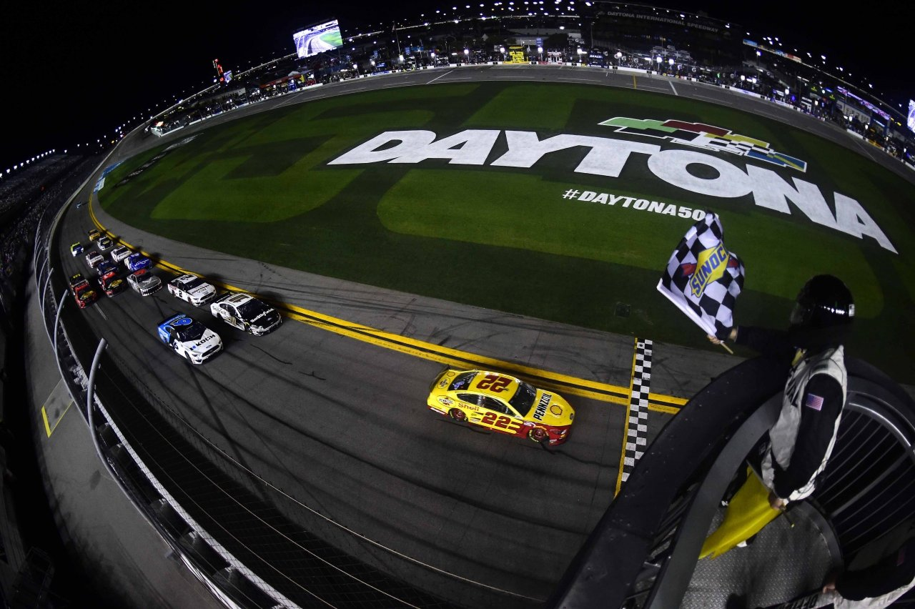 Joey Logano wins Duel 1 at Daytona - NASCAR