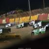 Kyle Bronson, Tyler Erb, Brandon Sheppard, Tim McCreadie, Jonathan Davenport and Mason Zeigler at East Bay Raceway Park - LOLMDS 4951