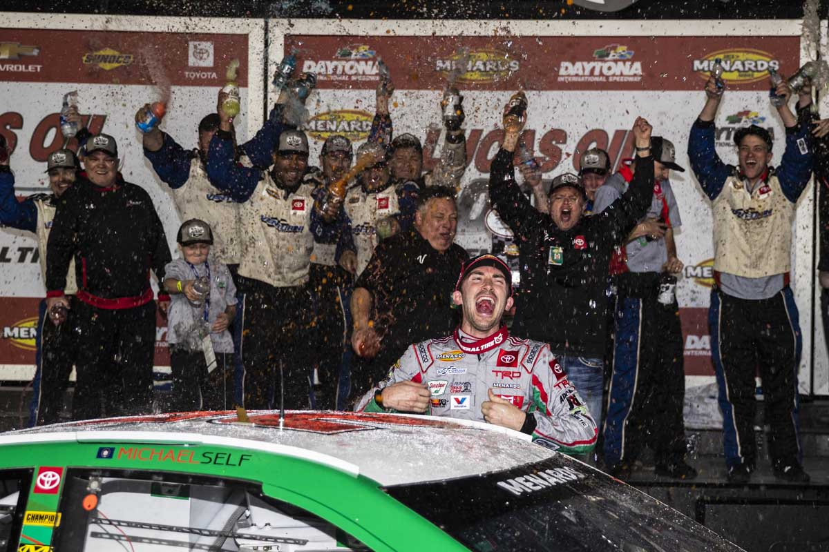 Michael Self wins at Daytona International Speedway - ARCA
