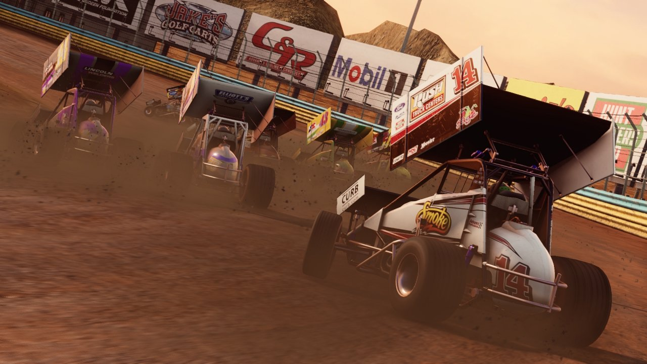 Sprint Car Racing Video Game