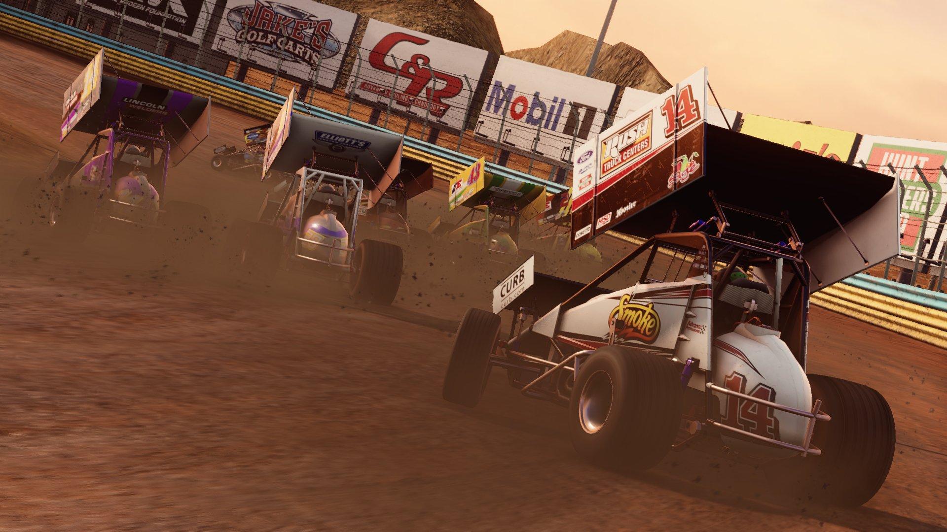 Sprint Car Racing Video Game