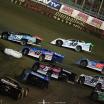 Tim McCreadie, Jonathan Davenport, Kyle Bronson, Dennis Erb Jr, Brandon Overton at East Bay Raceway Park - Lucas Oil Late Model Dirt Series 4038