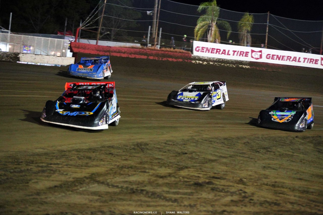 Tim McCreadie, Kyle Bronson and Brian Shirley at East Bay Raceway Park 3714