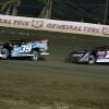 Tim McCreadie and Brandon Overton at East Bay Raceway Park - LOLMDS 4369
