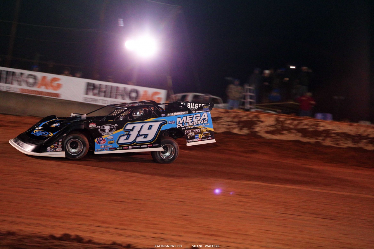 Tim McCreadie at Golden Isles Speedway - Lucas Oil Late Model Dirt Series 3377