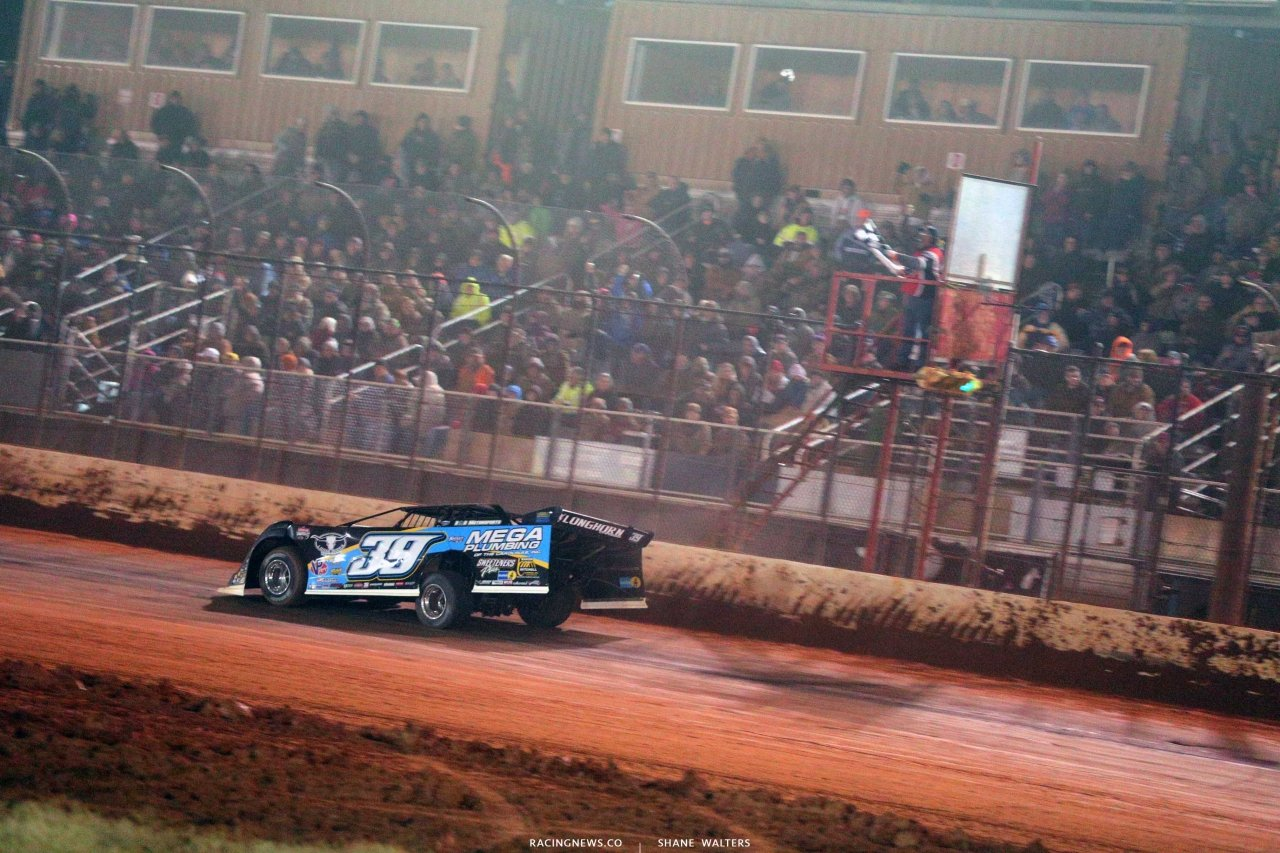 Tim McCreadie wins at Golden Isles Speedway - LOLMDS 3490