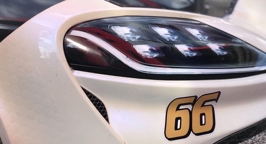 Timmy Hill - NASCAR fender violation - Bondo