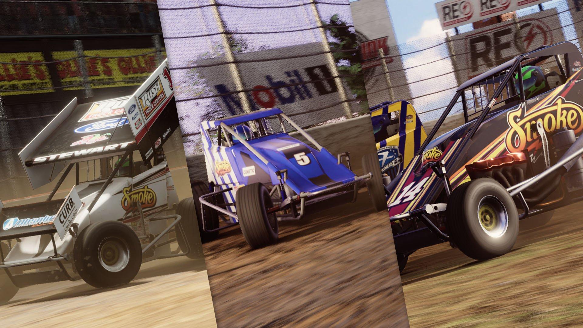 Tony Stewart - Dirt Racing Game Classes