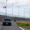 US President Donald Trump makes laps at Daytona International Speedway - Daytona 500